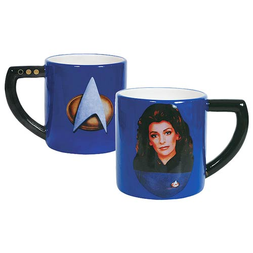 Star Trek The Next Generation Deanna Troi 16 oz. Mug