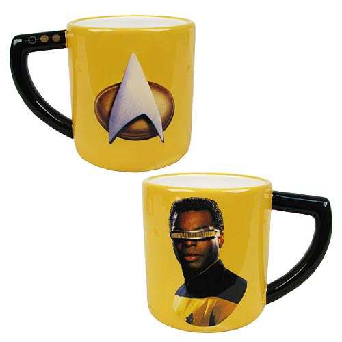 Star Trek The Next Generation Geordi La Forge 16 oz. Mug
