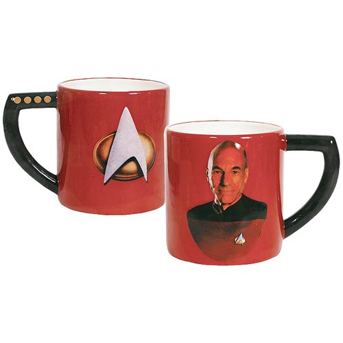 Star Trek The Next Generation Captain Picard 16 oz. Mug
