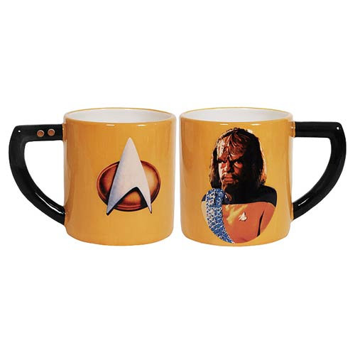 Star Trek The Next Generation Worf 16 oz. Mug