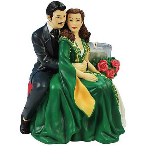 Gone with the Wind Scarlett and Rhett Tealight Holder