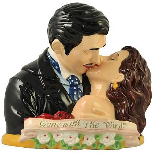 Gone with the Wind Rhett and Scarlett Cookie Jar