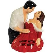 Gone with the Wind Rhett and Scarlett Salt & Pepper Shakers