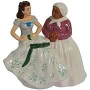 Gone with the Wind Scarlett Mammy Salt and Pepper Shakers
