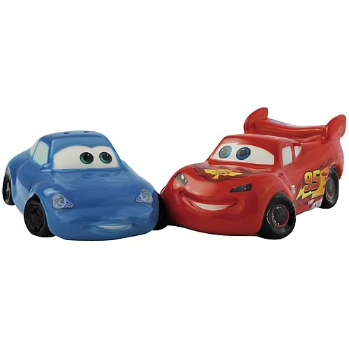 Cars Sally and Lightning McQueen Salt and Pepper Shakers