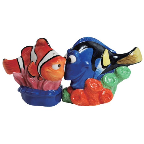 Finding Nemo Marlin and Dory Salt and Pepper Shakers
