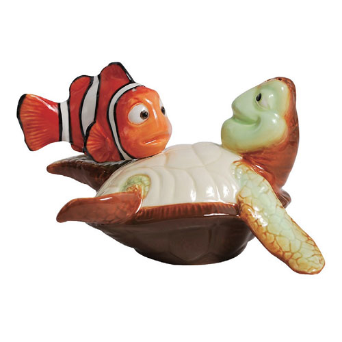 Finding Nemo Nemo and Crush Salt and Pepper Shakers