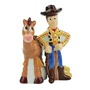Toy Story Woody and Bullseye Salt and Pepper Shakers