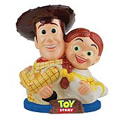 Toy Story Woody and Jessie Cookie Jar