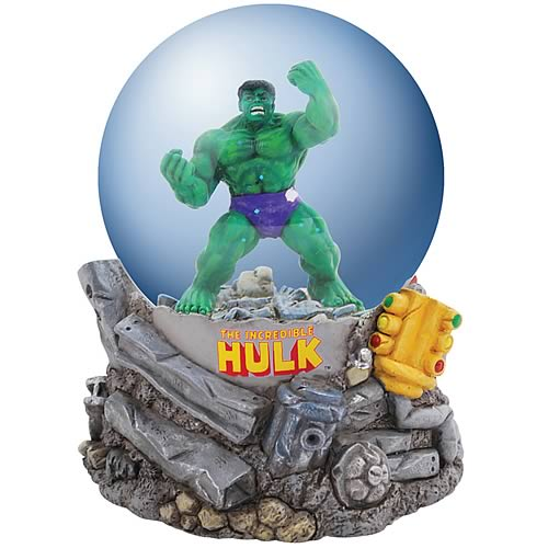 Incredible Hulk Water Globe