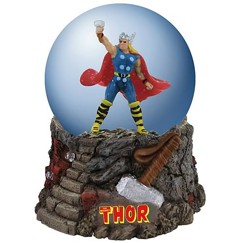 Mighty Thor Water Globe