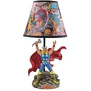 Mighty Thor Statue Lamp