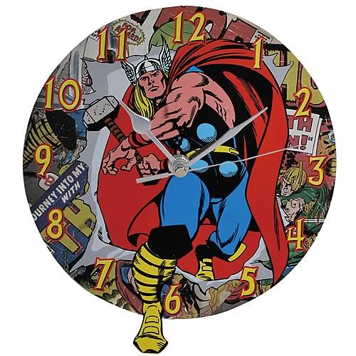 Mighty Thor Wall Clock