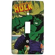 Incredible Hulk Light Switch Plate