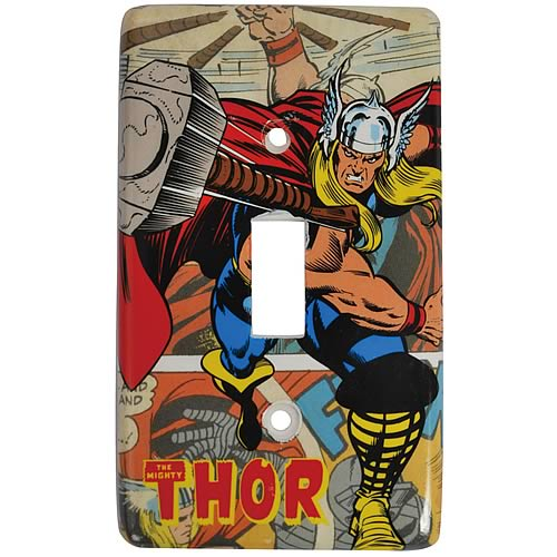 Mighty Thor Light Switch Plate
