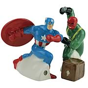 Captain America vs. Red Skull Salt and Pepper Shakers