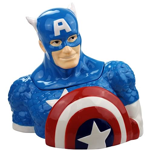 Captain America Cookie Jar