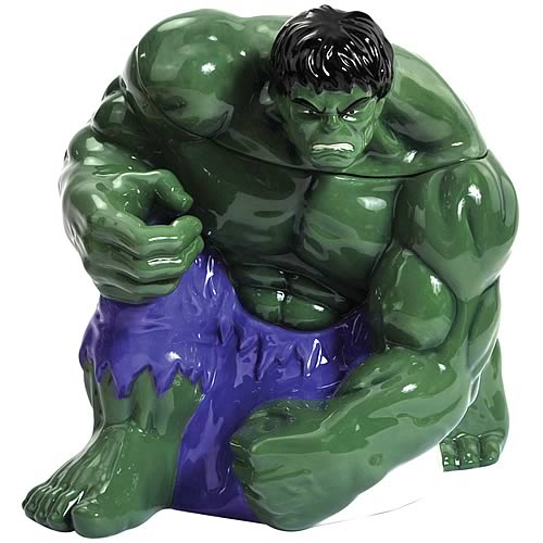 Incredible Hulk Cookie Jar