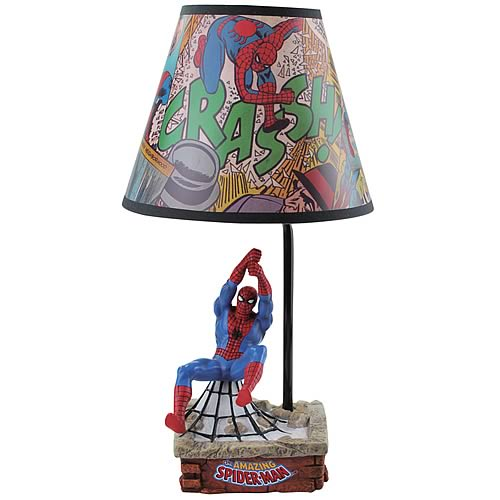 Spider Man Statue Lamp Westland Giftware Spider Man