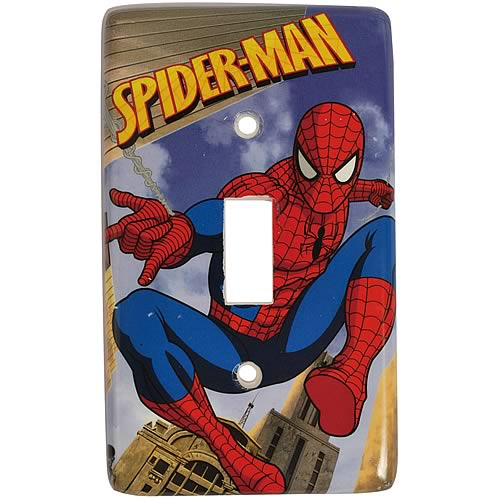 Spider-Man Light Switch Plate