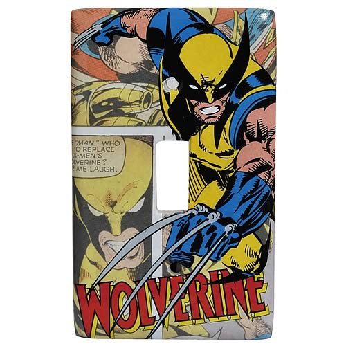 Wolverine Light Switch Plate