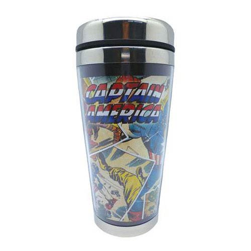 Marvel Captain America 16 oz. Acrylic Travel Mug