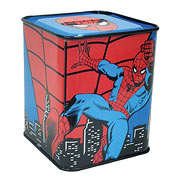 Spider-Man Tin Bank