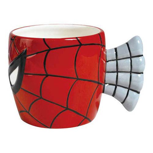 Spider-Man Face Mug with Web Handle