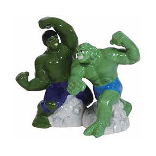 Incredible Hulk vs. Abomination Salt and Pepper Shaker Set