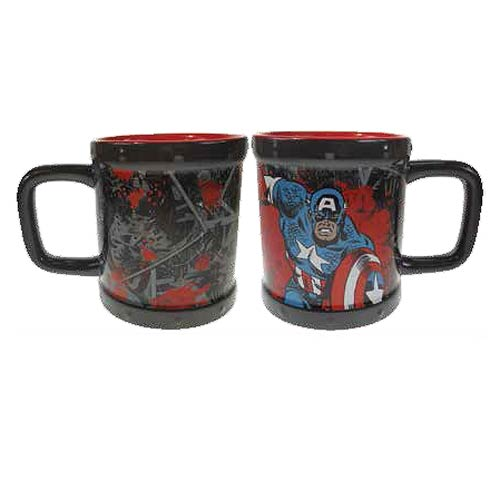 Captain America Rivets 18 oz. Mug