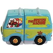 Scooby-Doo Gang and Mystery Machine Salt and Pepper Shakers