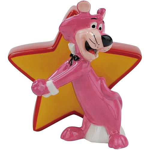 Snagglepuss and Star Salt and Pepper Shakers