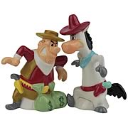 Quick Draw McGraw and Bandit Salt and Pepper Shakers