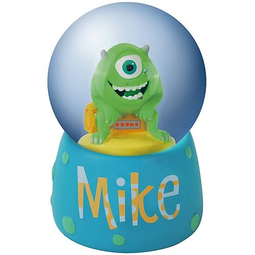 Monsters Inc. Mike Water Globe