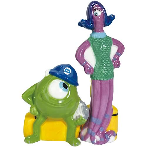 Monsters Inc. Mike and Celia Salt and Pepper Shakers