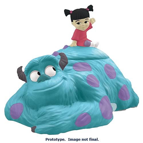 Monsters Inc. Sulley and Boo Cookie Jar