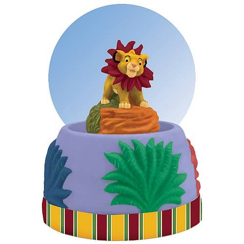 Lion King Simba Water Globe