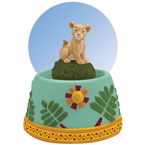 Lion King Nala Water Globe