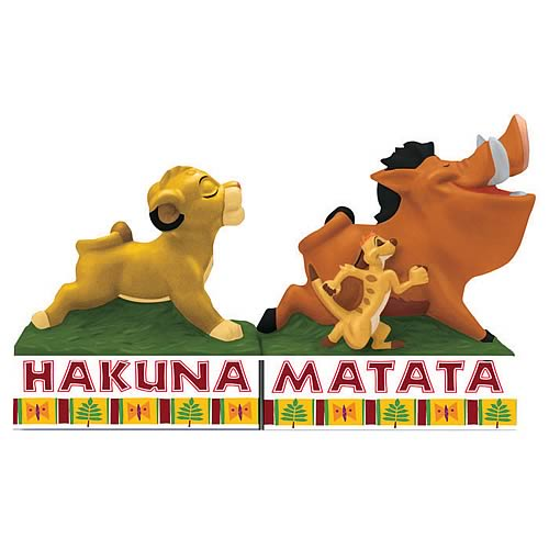Lion King Hakuna Matata Salt and Pepper Shakers
