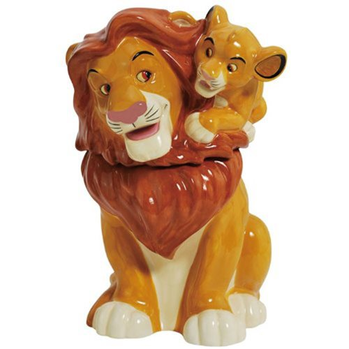 Lion King Simba on Mufasa Cookie Jar