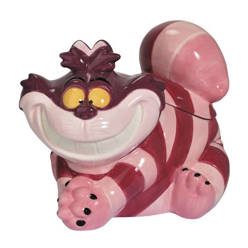 Alice in Wonderland Cheshire Cat Cookie Jar