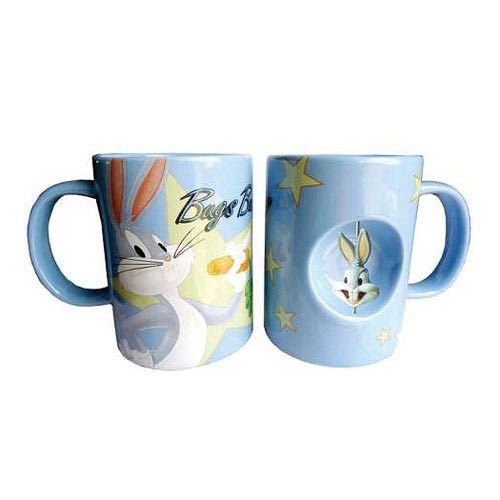 Looney Tunes Bugs Bunny 12 oz. Ceramic Spinner Mug