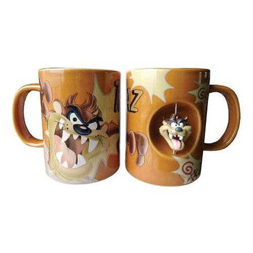 Looney Tunes Taz 12 oz. Ceramic Spinner Mug