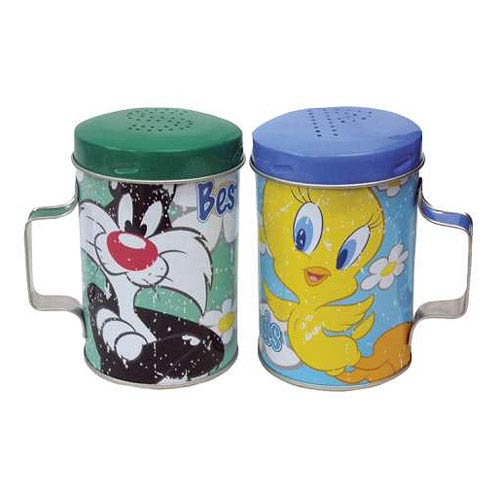 Looney Tunes Sylvester & Tweety Bird Salt & Pepper Shakers
