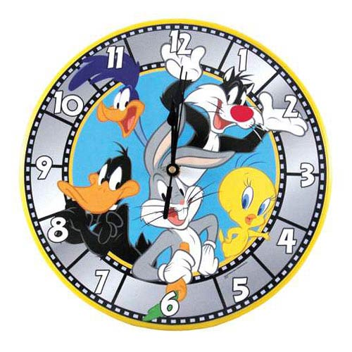 Looney Tunes Bugs Bunny and Gang Wall Clock