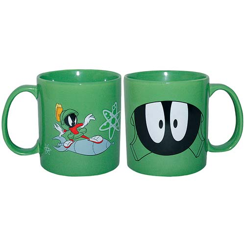 Looney Tunes Marvin the Martian 14 oz. Face Mug