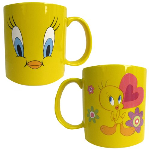 Looney Tunes Tweety Bird 14 oz. Face Mug