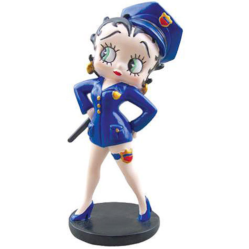 Betty Boop Police Betty Mini Statue