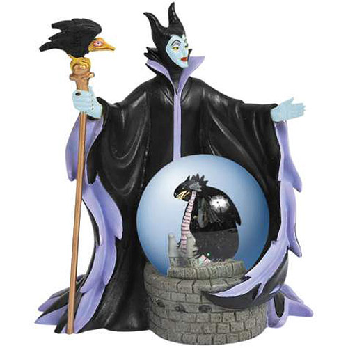 Sleeping Beauty Maleficent Water Globe