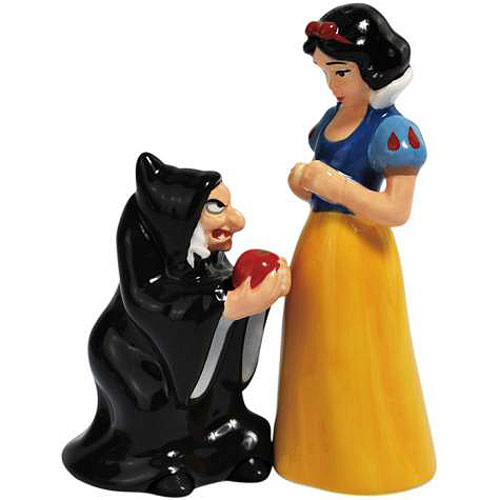 Snow White and Evil Queen Salt & Pepper Shakers